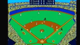 1985 Royals @ 1969 Braves Earl Weaver Baseball Amiga