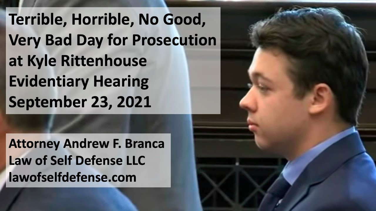 Download Very Bad Day for Prosecution at Kyle Rittenhouse Evidentiary Hearing: Part 1