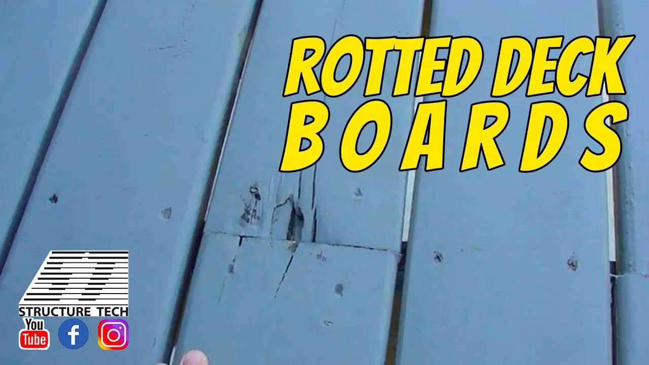 rotted deck boards