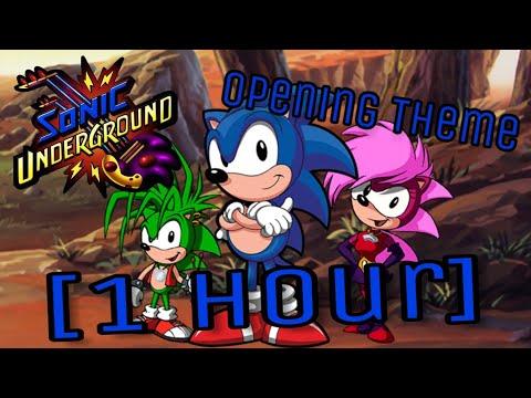 Sonic Underground Opening Theme 1 Hour Manic The Hedgehog Youtube