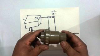 Pressurização de água em residência.