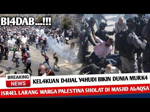 BERITA TERKINI ~ BI4DAB! ISRAEL LARANG WARGA PALESTINA SHOLAT JUMAT DI AL-AQSA ~ KABAR INFO DUNIA