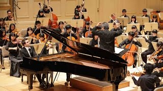 Fukushima Youth Sinfonietta - Panos Karan: Rachmaninoff Piano Concerto No. 2  (1st Movement)