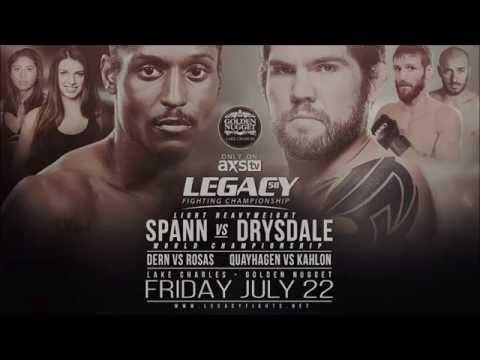 Legacy 58: Spann vs Drysdale