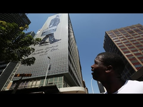 ANCYL founder smiles down on Durban from KZN's biggest artwork