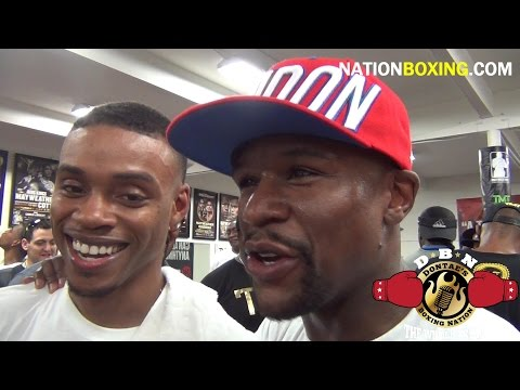 MAYWEATHER REFLECTS ON SPARRING ERROL SPENCE AND WANTS TO MAKE SPECE VS THURMAN