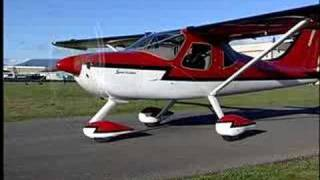 Glastar Sportsman 2+2 Aircraft Demo part 2 of 2