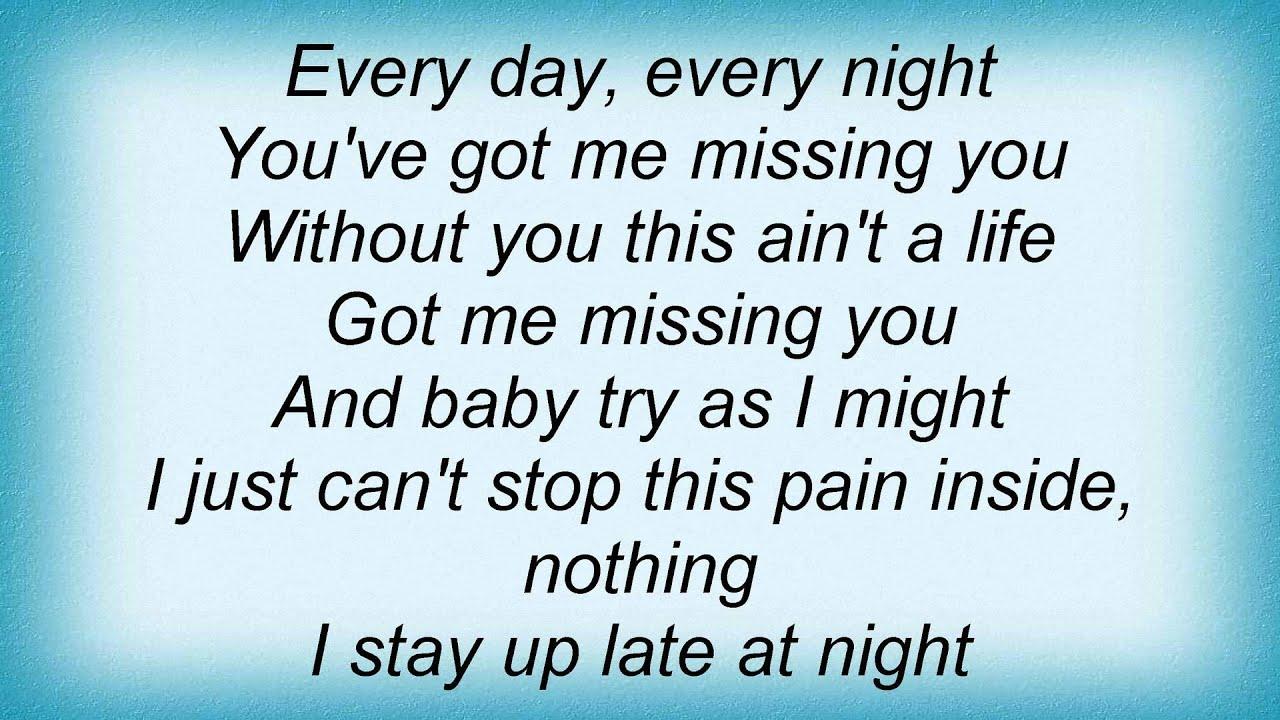 Lisa Stansfield - Got Me Missing You Lyrics - YouTube