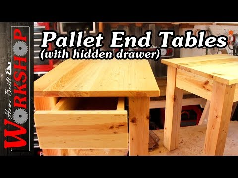 How to make End Tables