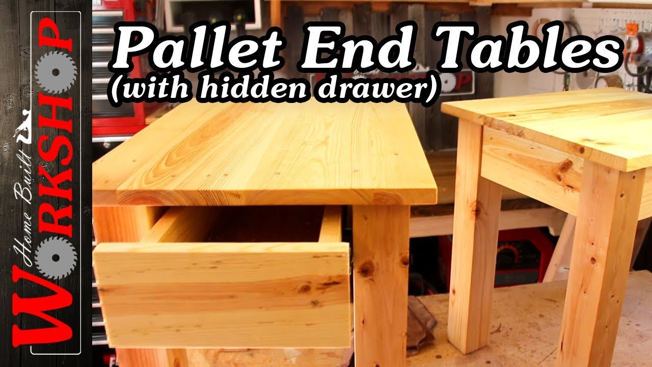 How To Make End Tables YouTube - How to build an end table