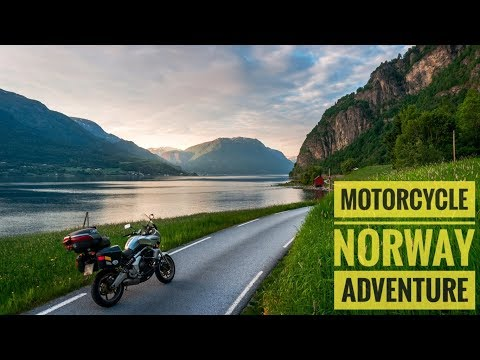 Norway - One Man One Motorcycle in Scandinavia. Drone + Gopro