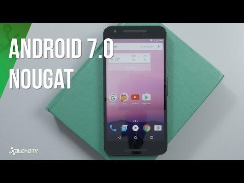 Review Android 7.0 Nougat, análisis en español