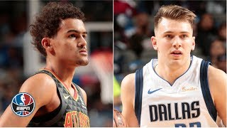 Luka Doncic, Trae Young go toe-to-toe in battle of rookies | NBA Highlights