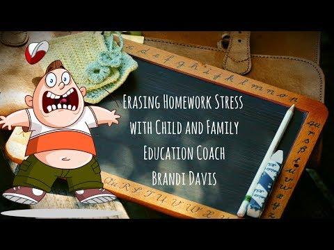 Erasing Homework Stressors for Parents and Kids