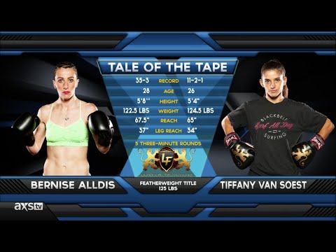 Fight of the Week: Tiffany Van Soest Back on Top at Lion Fight 22