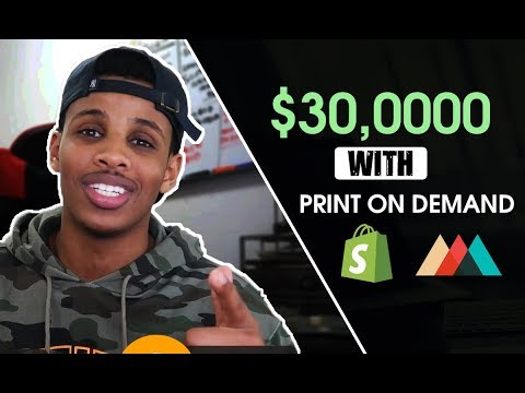 $30,000 WITH PRINT ON DEMAND (my strategy)