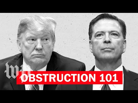 Opinion | Obstruction of justice is hard to prove, even if Trump makes it look easy