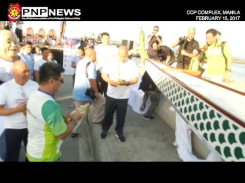 LAUNCHING & BLESSING OF PNP MARITIME GROUP DRAGON BOAT (Feb. 15, 2017)