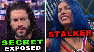 Sasha Banks Has a STALKER Roman Reigns SECRET EXPOSED 5 Leaked WWE News Rumors March 2021