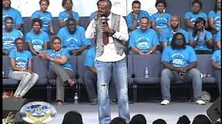 Comedian MARCUS D. WILEY visits Voices of Faith Ministry