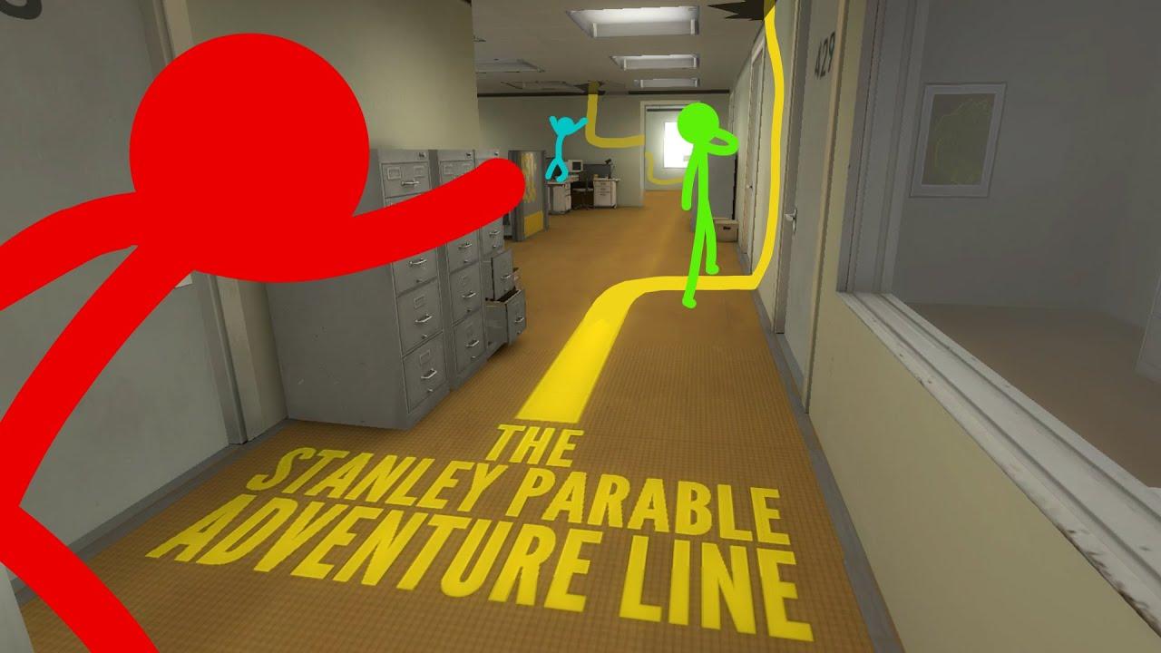 The Stanley Parable Pt.3 | ADVENTURE LINE!