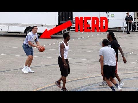 NERD BALLS ON STRANGERS!!