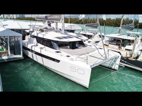 2018 Leopard 50 Catamaran Walkthrough w/ Commentary [4K]