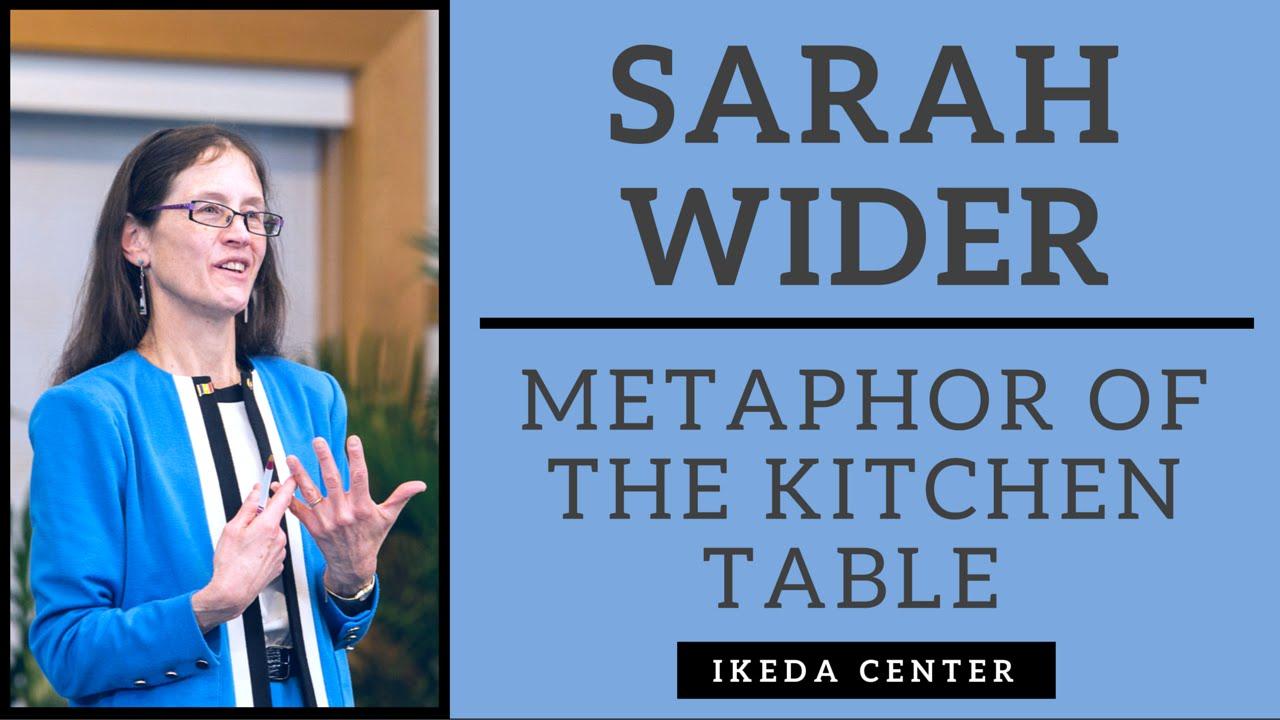 Sarah Wider - Joy Harjo\'s Metaphor of the Kitchen Table - YouTube