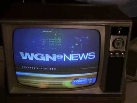 Watch a 1969 Zenith Color TV! The Last evening of NTSC broadcasting