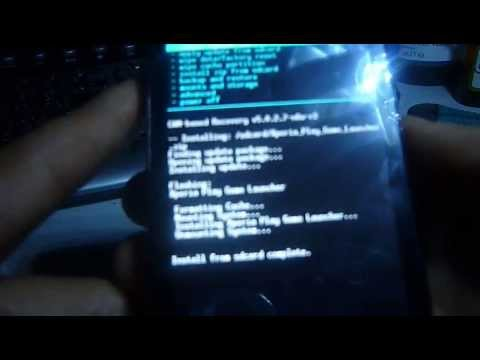 "Xperia Play Android 2.3.7 Rom del Xperia Z ""Instalacion""(mejor rom botloaders bloqueados)"
