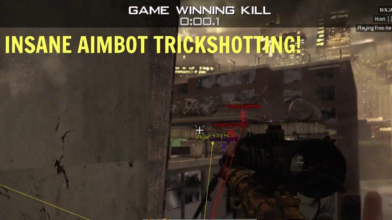 I HIT AN INSANE AIMBOT TRICKSHOT!!