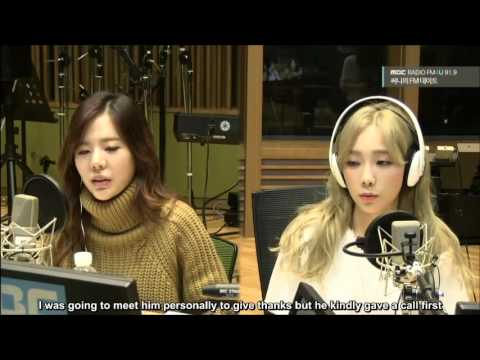 [Eng Sub] 151008 Taeyeon and Verbal Jint phone call on Sunny FM Date