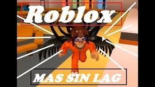 QUITAR AL MAXIMO EL LAG DE ROBLOX [3 Formas]