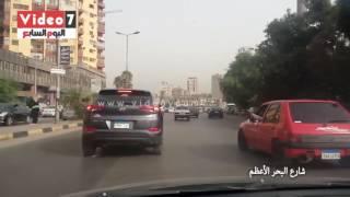 بالفيديو.. خريطة الحالة المرورية.. زحام وتكدس فى أول أيام عمل بالأسبوع