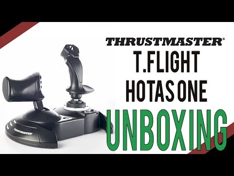 Thrustmaster T.Flight HOTAS One Unboxing | Elite: Dangerous Flightstick