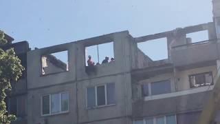 Реконструкция дома после взрыва газа. Павлоград