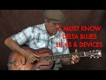 3 Must Know Delta Blues Licks (Blow Minds)