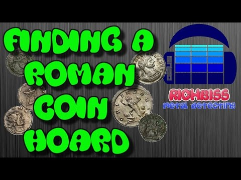 AMAZING ANCIENT ROMAN COIN HOARD. FIND OF A LIFETIME. METAL DETECTING UK.
