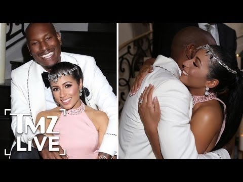 Tyrese Pulls Off A Secret Wedding | TMZ Live