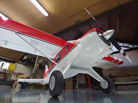 """GIANT FMS 2000mm (78.7"""") DH-2 Beaver V2 PNP Reflex gyro Combo Unboxing"""