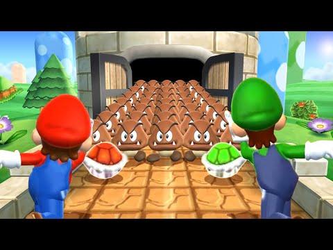 Mario Party 9 MiniGames - Mario Vs Yoshi Vs Wario Vs Peach (Master Cpu)