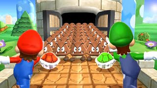 Mario Party 9 MiniGames  Mario Vs Yoshi Vs Wario Vs Peach (Master Cpu)