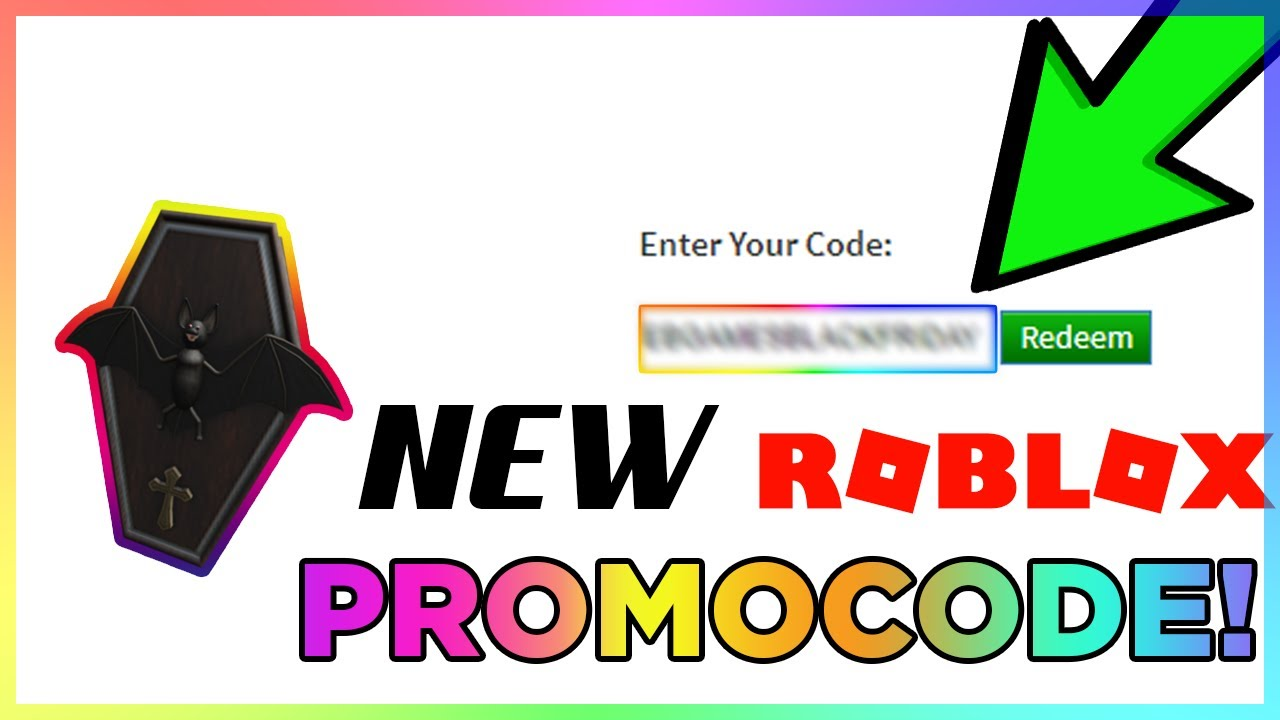 New Roblox Promo Code August 2019 Free Bat Pack Accessory