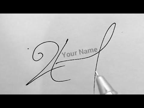 A - signature tutorial | +91 8304091383 whatsapp/telegram/ freebirdsdesigns1@gmail.com