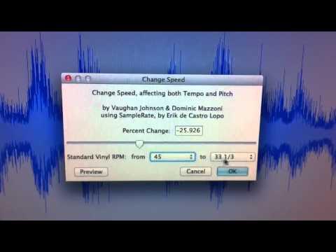 My method of recording 78 RPM records