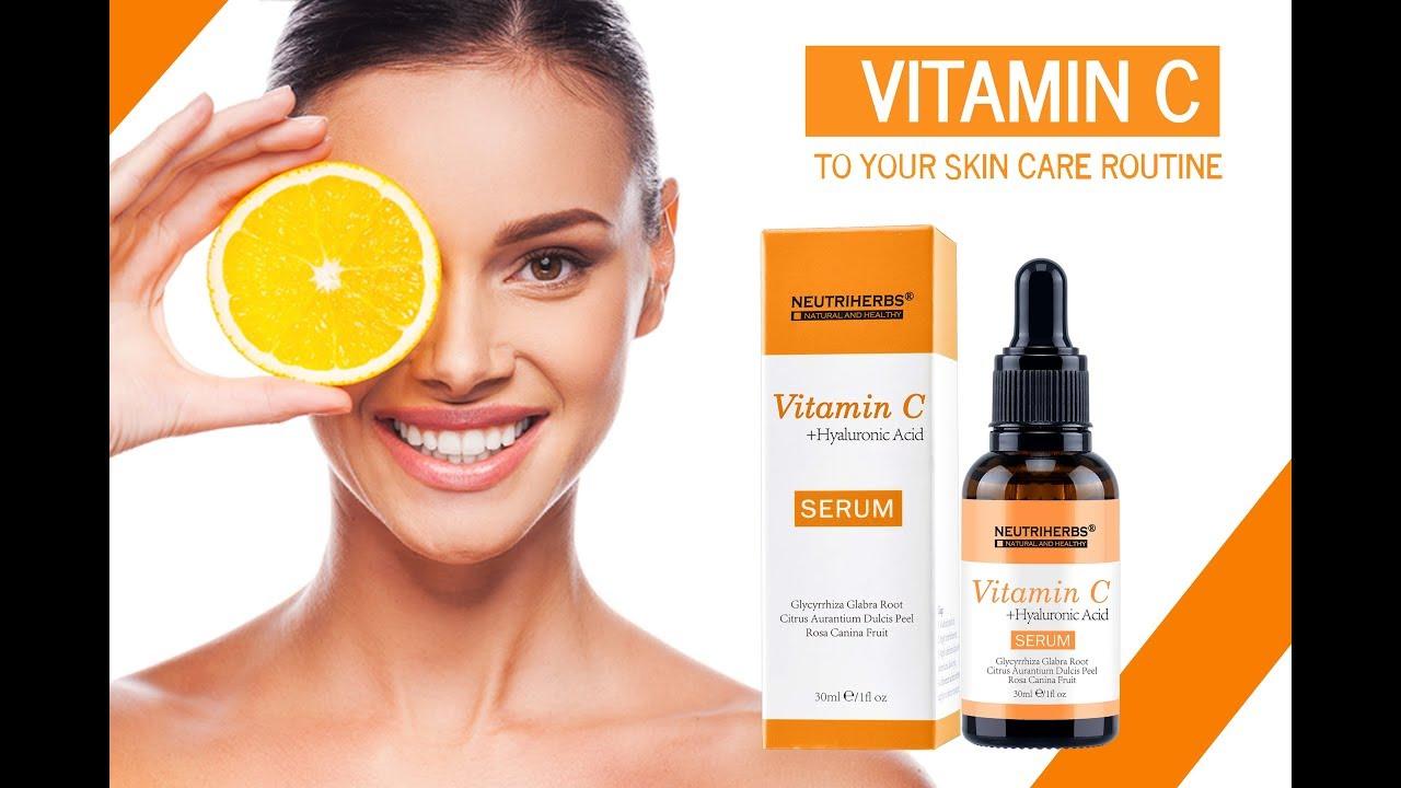 Vitamin C Serum + Hyaluronic Acid with Multi-Benefits - Neutriherbs