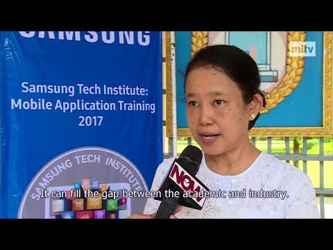 Now  in Yangon -  Samsung Tech Institute Mobile Application Training 2017