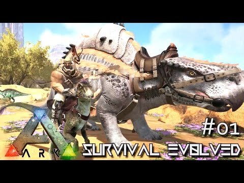 ARK: SCORCHED EARTH - NEW DINOS JERBOA & MOLLERATOPS  !!! E01 (ARK SURVIVAL EVOLVED GAMEPLAY)