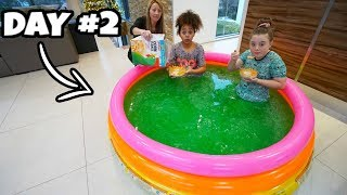 Download LAST TO LEAVE SLIME POOL WINS $10,000 Robux Challenge!! Mp3 and Videos