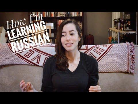 How I'm Learning Russian (видео по-английски)